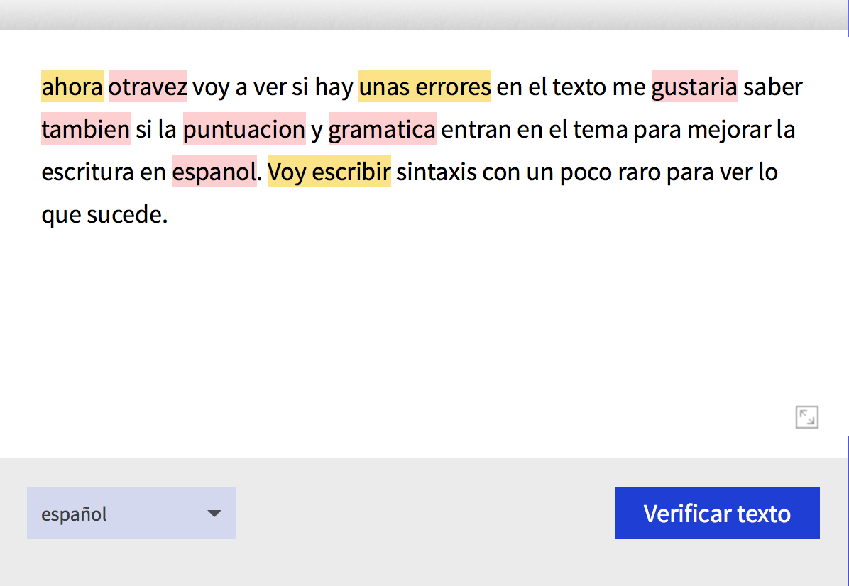 como utilizar LanguageTool para mejor su español