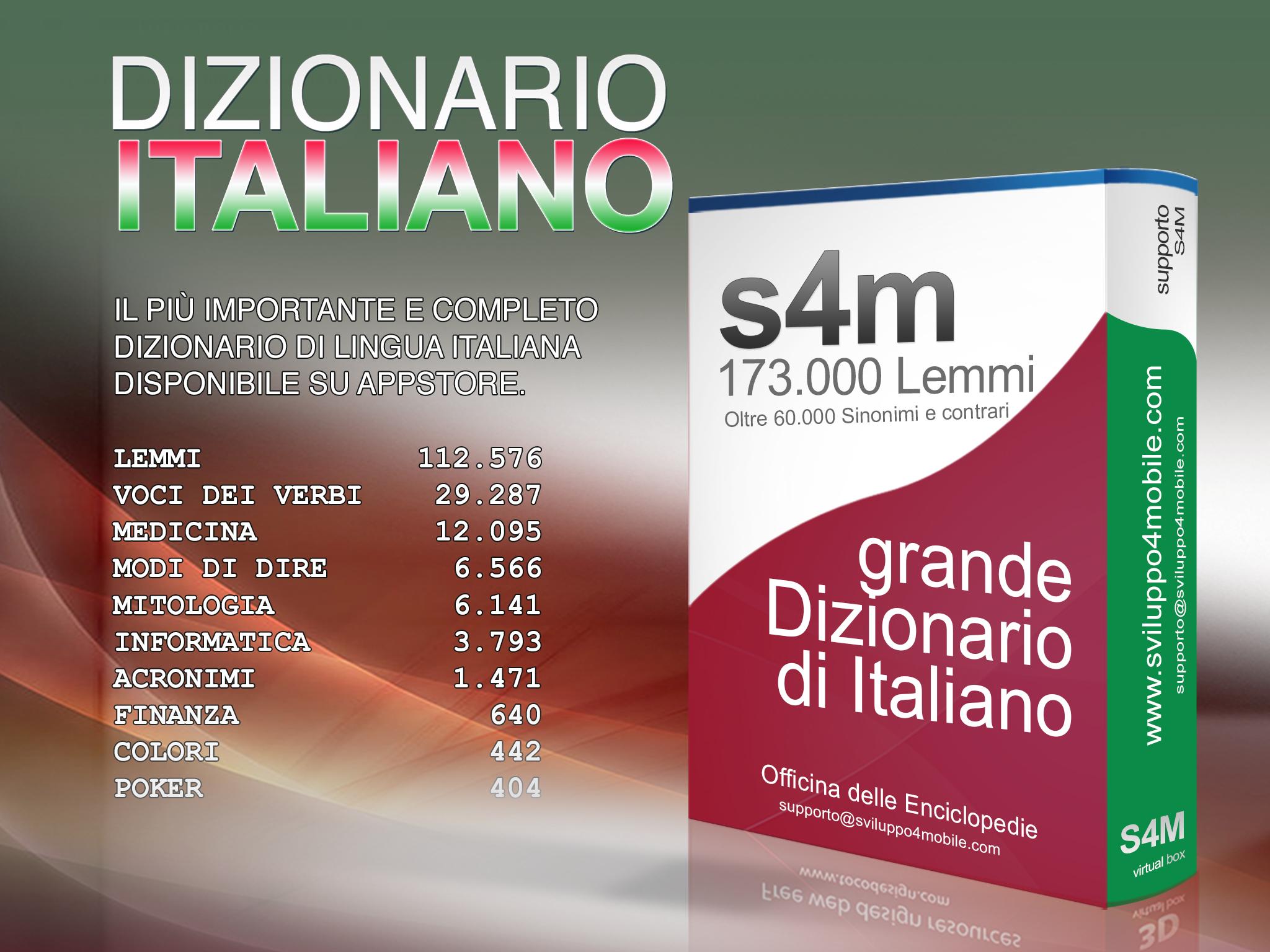 dizionario italiano gratis app